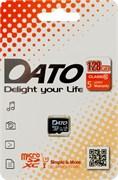 (1016965) Флеш карта microSDXC 128Gb Class10 Dato DTTF128GUIC10 w/o adapter