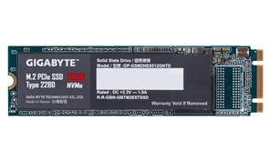 (1016974) SSD жесткий диск M.2 2280 512GB GP-GSM2NE8512GNTD GIGABYTE