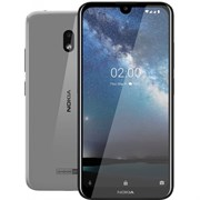 "(1016989) Смартфон NOKIA 2.2 16GB DS TA-1188 STEEL, 5.71"" 19:9 1520x720, 2.0GHz, 4 Core, 2GB RAM, 16GB, up to 400GB flash, 13Mpix/5Mpix, 2 Sim, 2G, 3G, LTE, BT v4.2, Wi-Fi, GPS, Micro-USB, 3000mAh, Android 9 Pie, 145.96 ммx70.56 ммx9,3 мм, XpressOn c"