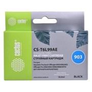 (1017156) Картридж струйный Cactus №903 CS-T6L99AE черный (21.6мл) для HP OJP 6950/6960/6970