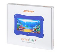 "(1017165) Планшет Digma Optima Kids 7 RK3126С, RAM1Gb, ROM16, 7"", WiFi, BT, 2Mpix, 0.3Mpix, Android 8.1, розовый"