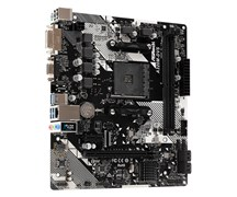 (1017228) Материнская плата Asrock A320M-DVS R4.0 Soc-AM4 AMD A320 2xDDR4 mATX AC`97 8ch(7.1) GbLAN RAID+VGA+DVI