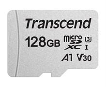 (1017264) Флеш карта microSDXC 128Gb Transcend TS128GUSD300S w/o adapter