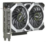 (1017504) Видеокарта MSI PCI-E GTX 1660 VENTUS XS 6G OCV1 nVidia GeForce GTX 1660 6144Mb 192bit GDDR5 1530, 8000 DVIx1, HDMIx1, DPx1, HDCP Ret