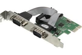(1017440) Контроллер PCI-E WCH382 2xCOM Ret