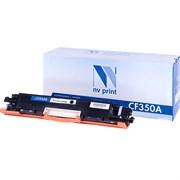 (1017709) NV Print CF350A Картридж для HP LaserJet Pro M176n MFP/M177fw MFP (1300 стр.) черный, с чипом
