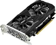 (1017702) Видеокарта Palit PCI-E PA-GTX1650 DUAL 4G nVidia GeForce GTX 1650 4096Mb 128bit GDDR5 1485, 8000, HDMIx1, DPx2, HDCP Ret