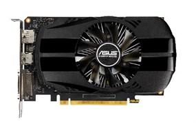 (1017697) Видеокарта Asus PCI-E PH-GTX1650-O4G NV GTX1650 4096Mb 128b GDDR5 1485/8002 DVIx1/HDMIx1/DPx1/HDCP R