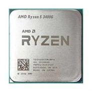(1017516) Процессор AMD RYZEN X4 R5-3400G SAM4 OEM 65W 3700 YD3400C5M4MFH