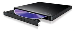 (1017722) Привод DVD-RW LG GP57EB40 черный USB slim внешний RTL