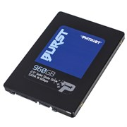 "(1017918) SSD жесткий диск SATA2.5"" 960GB BURST PBU960GS25SSDR PATRIOT"