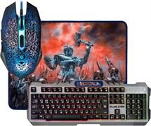 (1017927) Клавиатура + мышка +PAD MKP-013L RU 52013 DEFENDER