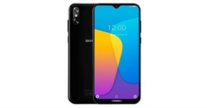 (1018088) Смартфон Doogee X90L Midnight Black, 6.1'' 19:9 600x1280, 1.5GHz, 4 Core, 3GB RAM, 16GB, up to 128GB flash, 5Mpix+8Mpix/5Mpix, 2 Sim, 2G, 3G, LTE, BT, Wi-Fi, GPS, Micro-USB, 3400mAh, Android 9.0 (Pie), 150g, 156,8 ммx75,25 ммx9 мм, Waterdro