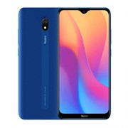 (1018078) Смартфон Xiaomi Redmi 8A 2/32GB Ocean Blue (M1908C3KG), 6.22'' 1520x720, 1,95 ГГц+1,95 ГГц, 8 Core, 2GB RAM, 32GB, 12Mpix/8Mpix, 2 Sim, 2G, 3G, LTE, BT v4.2, Wi-Fi, GPS / AGPS, GLONASS, Beidou, Type-C, 5000mAh, Android 9.0 (Pie), 188g, 156,