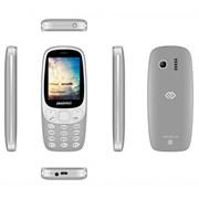 """(1018125) Мобильный телефон Digma Linx N331 2G 32Mb серый 2Sim 2.44"""" TFT 240x320 0.08Mpix"""