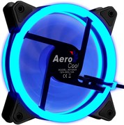 (1018115) Вентилятор Aerocool Rev Blue 120x120 3-pin 15dB 153gr LED Ret