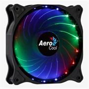 (1018110) Вентилятор Aerocool Cosmo 12 120x120 4-pin(Molex)24dB 160gr LED Ret