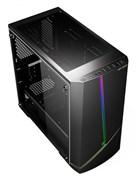 (1018106) Корпус Formula M-11B черный без БП mATX 4x120mm 2x140mm 2xUSB2.0 2xUSB3.0 audio bott PSU