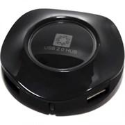 (1018304) Концентратор 5bites HB24-206BK 4*USB2.0 / USB PLUG / BLACK
