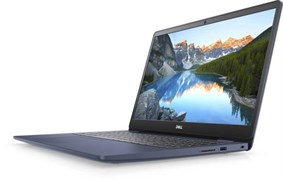 "(1018260) Ноутбук Dell Inspiron 5593 Core i7 1065G7, 8Gb, SSD512Gb, nVidia GeForce MX230 2Gb, 15.6"", IPS, FHD (1920x1080), Linux, blue, WiFi, BT, Cam"