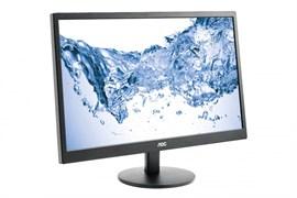 "(1018278) Монитор AOC 23.6"" Value Line M2470SWDA2(00, 01) черный MVA LED 16:9 DVI матовая 250cd 1920x1080 D-Sub FHD 3.51кг"