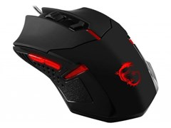 (1018335 )Мышь MSI Interceptor DS B1 GAMING Mouse, Black, USB