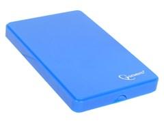 "(1018520) Внешний корпус 2.5"" Gembird EE2-U3S-56, синий металлик, USB 3.0, SATA, алюминий"
