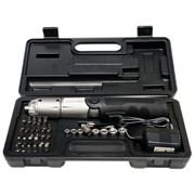 (3331247) Набор инструментов Buro Электроотвертка,8 торцевых ключей, 29 сменных насадок, скорость вращения 0-170 об/ мин.,6 скор-й. Реверс, два положения рукоятки.
