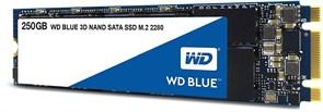 (1018600) Накопитель SSD WD Original SATA III 500Gb WDS500G2B0B Blue M.2 2280
