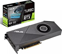 (1018594) Видеокарта Asus PCI-E TURBO-RTX2060S-8G-EVO NV RTX2060SUPER 8192Mb 256b GDDR6 1500/14000/HDMIx2/DPx2