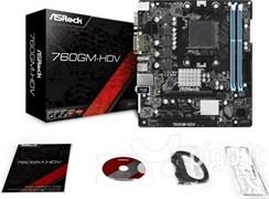 (1018587) Материнская плата Asrock 760GM-HDV Soc-AM3+ AMD 760G 2xDDR3 mATX AC`97 6ch(5.1) GbLAN RAID+VGA+DVI+H