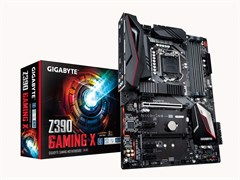 (1018620) Материнская плата Gigabyte Z390 GAMING X Soc-1151v2 Intel Z390 4xDDR4 ATX AC`97 8ch(7.1) GbLAN RAID