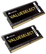 (1018708) Память DDR4 2x8Gb 2133MHz Corsair CMSO16GX4M2A2133C15 RTL PC4-17000 CL15 SO-DIMM 260-pin 1.2В