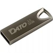 (1018888) Флеш Диск Dato 16Gb DS7016 DS7016-16G USB2.0 серебристый