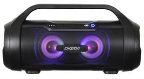 (1018910) Колонка порт. Digma S-34 черный 25W 1.0 BT/USB 3000mAh (SP3425B)