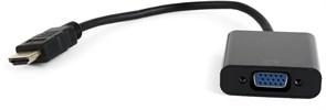 (1018927) Кабель-адаптер Адаптер HDMI (M) -> VGA (15F) NNC CHVA1080PB, длина 0.2 метра, черный