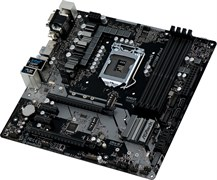 (1018911) Материнская плата Asrock H370M PRO4 Soc-1151v2 Intel H370 4xDDR4 mATX AC`97 8ch(7.1) GbLAN RAID+VGA+