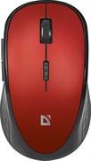 (1019022) Мышь беспроводная USB OPTICAL WRL MM-415 RED 52415 DEFENDER