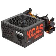 (1019330) Блок питания Aerocool ATX 800W KCAS PLUS 800 80+ bronze (24+4+4pin) APFC 120mm fan 7xSATA RTL
