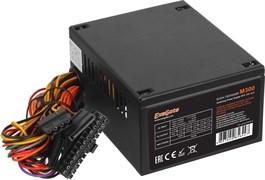 (1018527) Exegate EX221635RUS / 251752  Блок питания 300W ITX-M300, SFX, 8cm fan, 24+4pin, 2*SATA, 1*FDD, 1*IDE