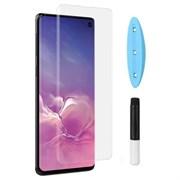 (1016471) Стекло защитное UV 3D Full Glue для Samsung Galaxy S10+ с UV-лампой в комплекте