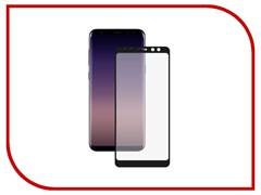 (1016003) Стекло защитное Full Glue Krutoff для Samsung Galaxy A8 (SM-A530) черное