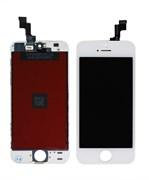 "(1011405) Матрица и тачскрин (сенсорное стекло) NT для смартфона Apple iPhone 5/5G, дисплей 4"" 640x1136,. Белый цвет."