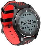 """(1019569) Смарт-часы NO.1 F3, дисплей 1.1"""", чёрно-красные 3872068"""