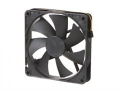 (1019374) Вентилятор Gembird, 140x140x25, гидрод., тихий, 3 pin/4pin Molex, провод 40 см