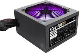 (1019364) Блок питания Aerocool ATX 650W KCAS-650G 80+ gold (24+4+4pin) APFC 120mm fan color LED 7xSATA RTL