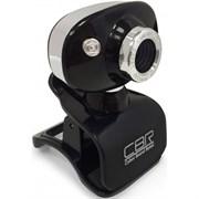 (1019353) CBR Веб-камера CW-833M Silver, универс. крепление, 4 линзы, эффекты, микрофон