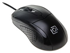 (1019618) Мышь Oklick 305M черный оптическая (1000dpi) USB (2but)