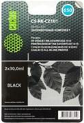 (1016018) Заправочный набор Cactus CS-RK-CZ101 черный 60мл для HP DJ 2515/3515