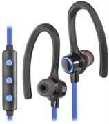 (1019711) Гарнитура для смартфонов Defender OutFit W770 черный+голубой, вставки